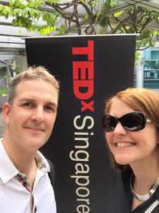 TEDxSG-Arrival