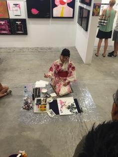 Calligraphy-JapaneseFlowerA