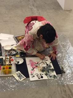 Calligraphy-JapaneseFlowerC