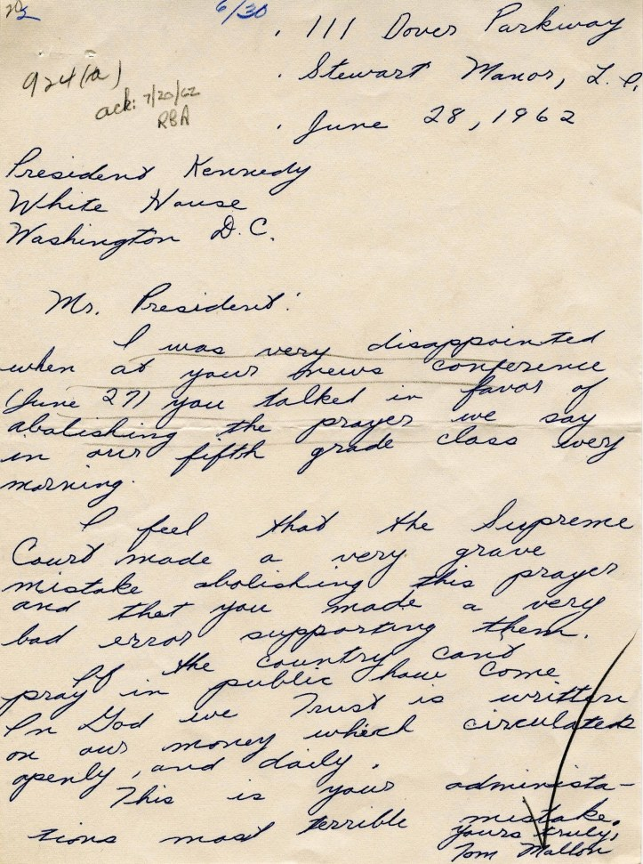 letters-to-PresidentKennedy