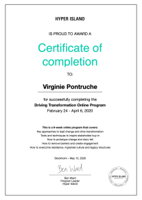 DriveTransformation-Course-Certificate-Virginie